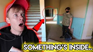 EXPLORING HAUNTED MILITARY SCHOOL.. (ghosts?)