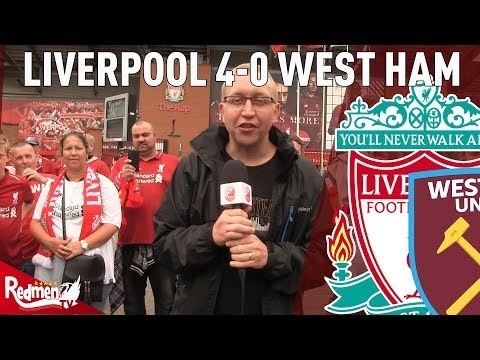 Top of The League, Lets Stay There! Liverpool 4-0 West Ham | Chris' Match Reaction