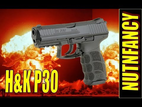 The Ghost Pistol:  H&K P30