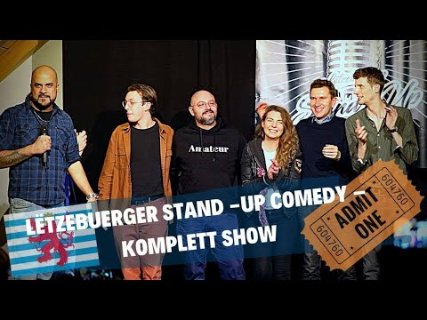 Lëtzebuerger Stand-Up Comedy (Full Show) - Luxembourg