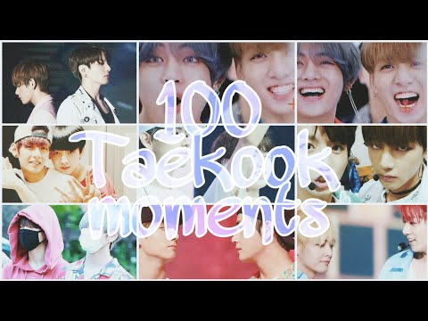 100 Cute Taekook/Vkook Moments Which Will Warm Your Heart (2013-2019)
