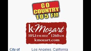 KKGO 105.1 Go Country 105 Los Angeles, CA TOTH ID at 6:00 p.m. 6/7/2014