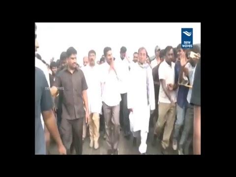 YS Jagan Praja Sankalpa Yatra Live From Idupulapaya   New Waves
