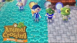 Animal Crossing New Leaf Welcome Amiibo With Jose And Andreas| Episode 2 THE BUG OFF