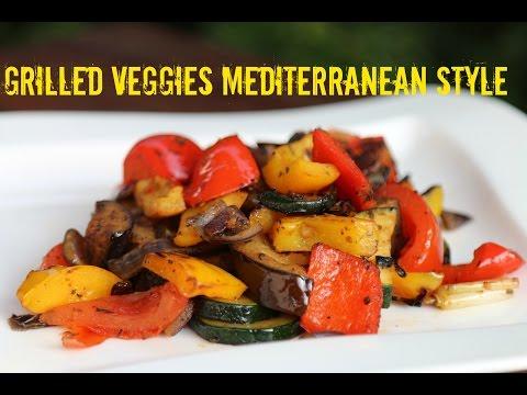 Grilled Veggies Mediterranean Style - Side Dish Recipe