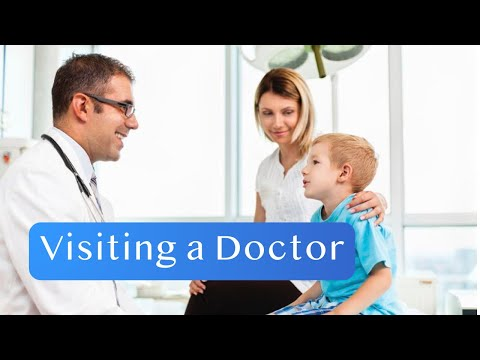 Visiting a Doctor English Conversation