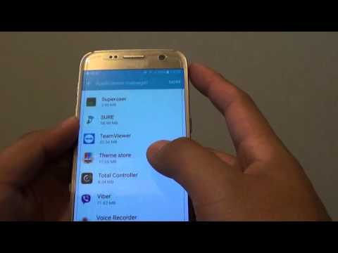 Samsung Galaxy S7: How to Uninstall Apps