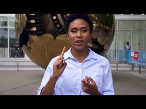 Shameless Maya's top 3 moments at UN General Assembly | UNICEF