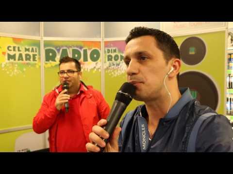 Cel mai mare radio din Romania in Iasi - Popescu si Flick la benzinaria MOL