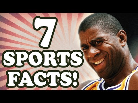 10 Minute NFL Games... and 6 other Sports Facts