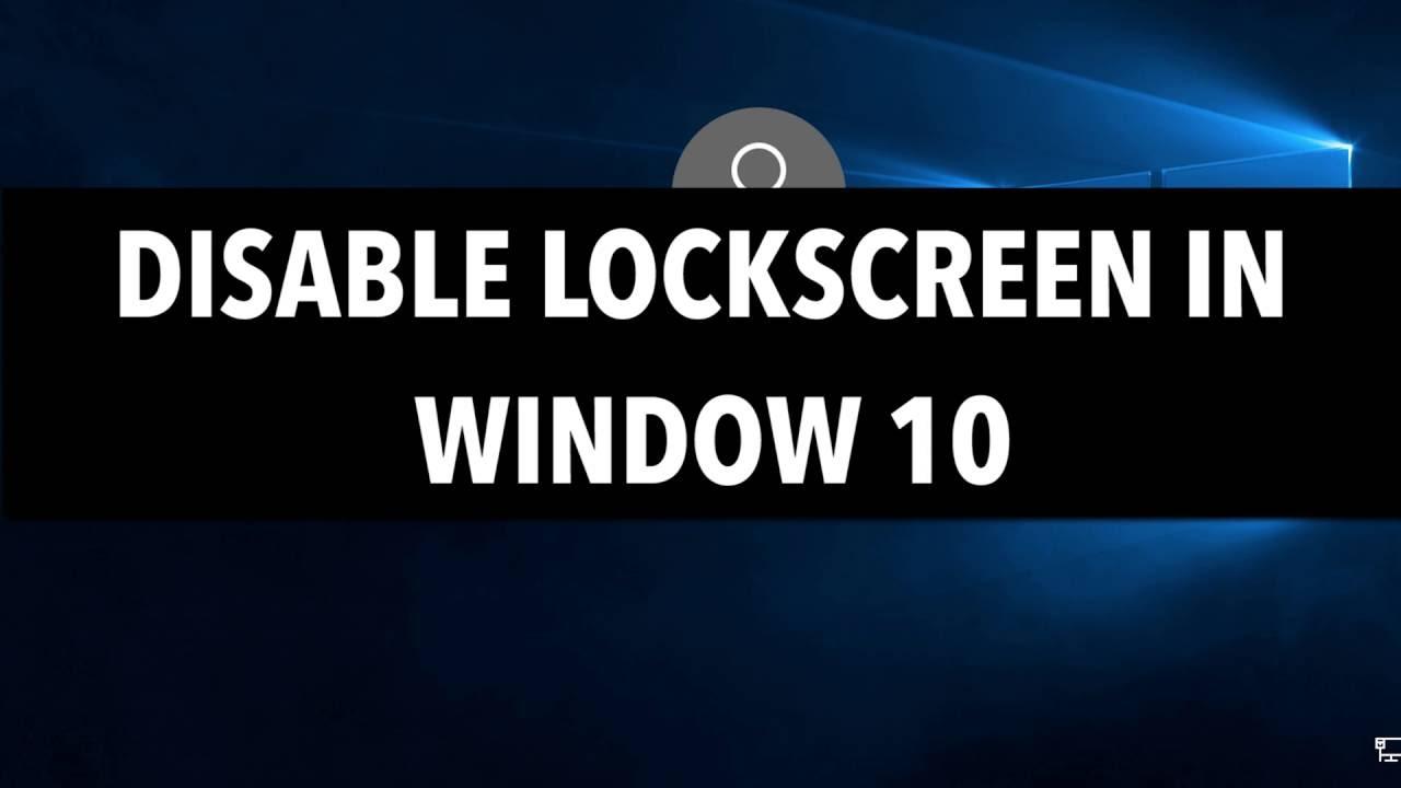 windows 10 password screen