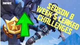 Season 8 Week 5 Leaked Fortnite Mobile Challenges