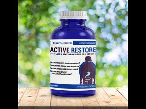 (EPISODE 2466) REVIEW VIDEO: Digestive Center Active Restore - Gut Health  Supplement