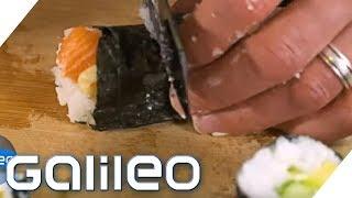 Kitchen Moves: Die besten Hacks rund ums Sushi   Galileo   ProSieben