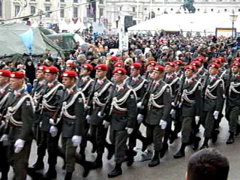 Military parade in Wien 2011