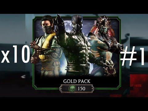 Mortal Kombat Mobile -  Gold Booster Packs #