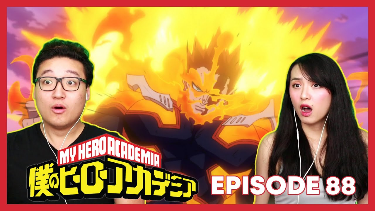 Download ENDEAVOR WE'RE WATCHING YOU!!ヾ(•ω•`)o | My Hero Academia Reaction Episode 88 / 4x 25