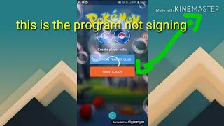 How to fix the problem of pokemon go game Facebook and Google option not coming let's fix it screenshot 4