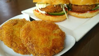 Crispy Chicken Patty Burger 🍔 By Mind Blowing Cooking