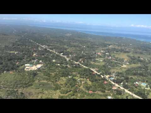 Tagbilaran (Bohol) Approach Rwy 35, MNL-TAG, 5J 617, CEBU PACIFIC AIR, A319