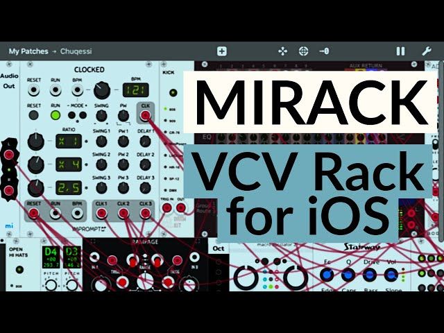 miRack, 'VCV Rack For iPad', Now Available | Synthtopia