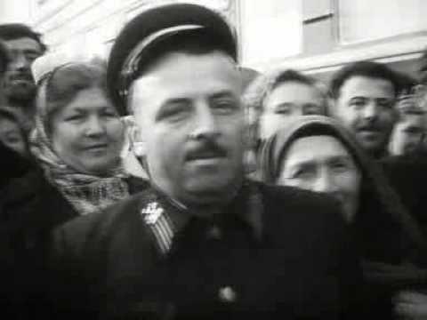 Хрущев едет из Гагры в Азербайджан. 1960 год
