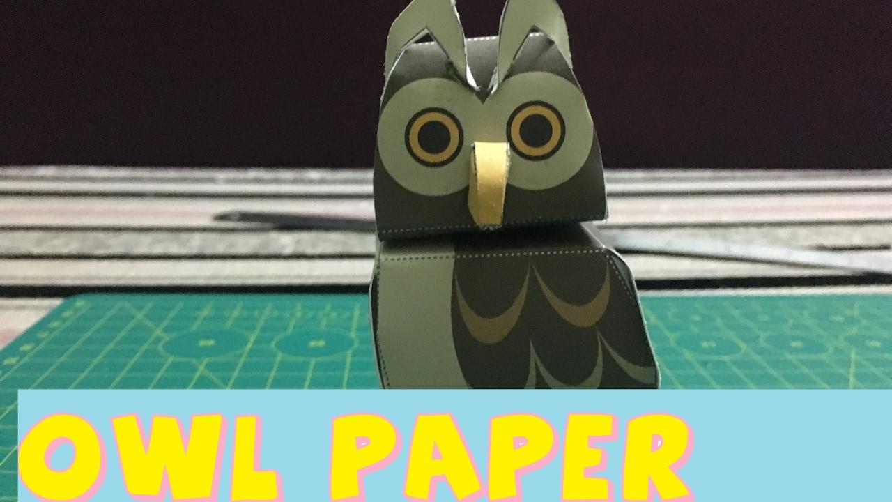 Easy owl paper craft cute easy easter diys paper animals for easy owl paper craft cute easy easter diys paper animals for kids jeuxipadfo Choice Image