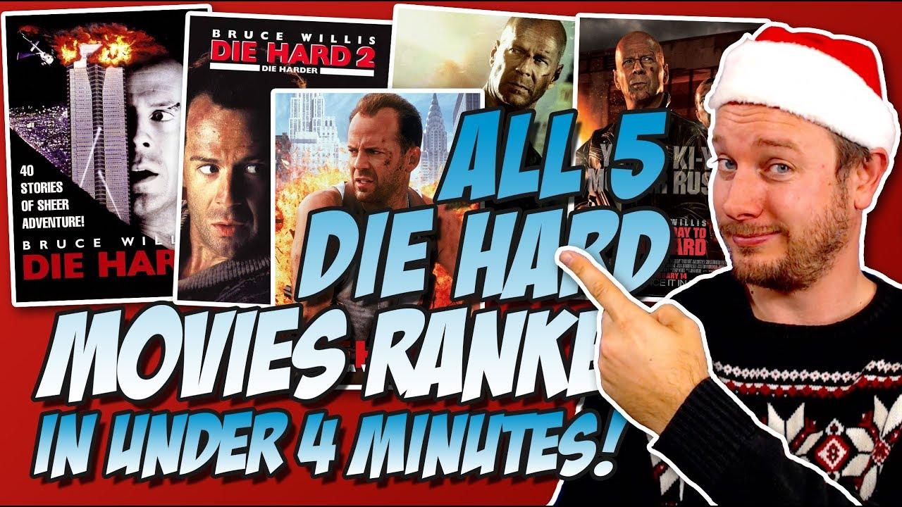 Download All 5 Die Hard Movies Ranked Worst to Best in Under 4 Minutes