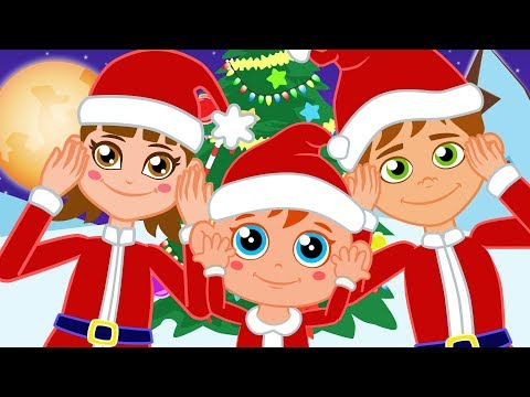 Head, Shoulders, Knees and Toes song | Happy Kids Nursery Rhymes - Kids Songs