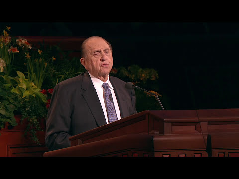 President Thomas S. Monson - It's Conference Once ...