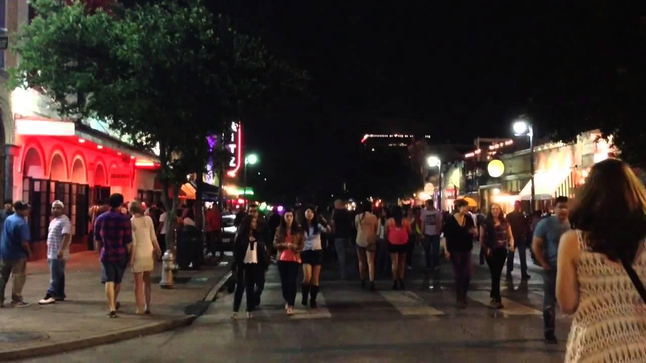 Austin Texas - 6th Street! - YouTube