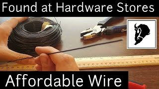 Wire for Clay Sculptures | Sculpting Supplies