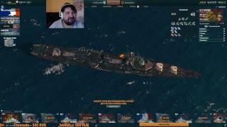 Клановые Бои 2-й сезон #2 - побег с дна (+18) - Стрим - World of warships