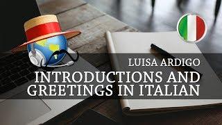 Learn Italian - Introductions and greetings in Italian