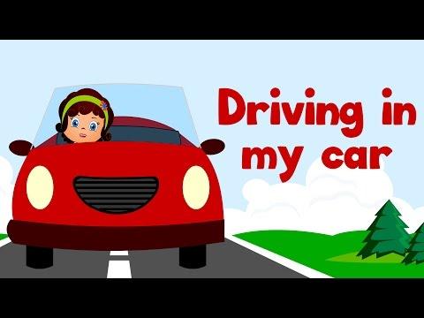 Driving in My Car | Kids Action Songs | Popular Nursery Rhymes