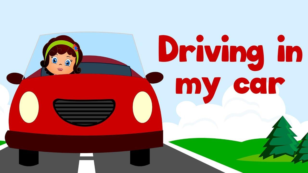 Drive Lyrics Cars: Kids Action Songs