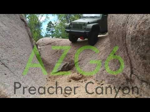 AZG6 swb scale crawling Preacher canyon with the MST-CFX-W