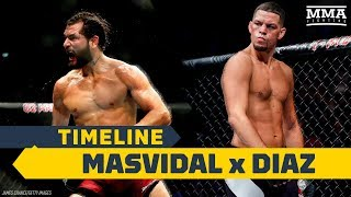 UFC 244 Timeline: Jorge Masvidal vs. Nate Diaz - MMA Fighting