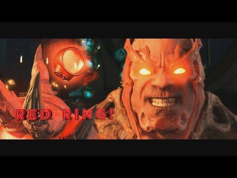 Injustice 2 - Green Lantern Resist Red Lantern Ring, Says Oath!
