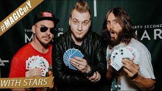 """""""You're the devil!"""" - JARED LETO - 30 SECONDS TO MARS - Magic of Y"""