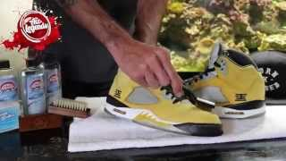 Deep Cleaning the Suede on Tokyo 5s using Air Legends Premium Cleaner