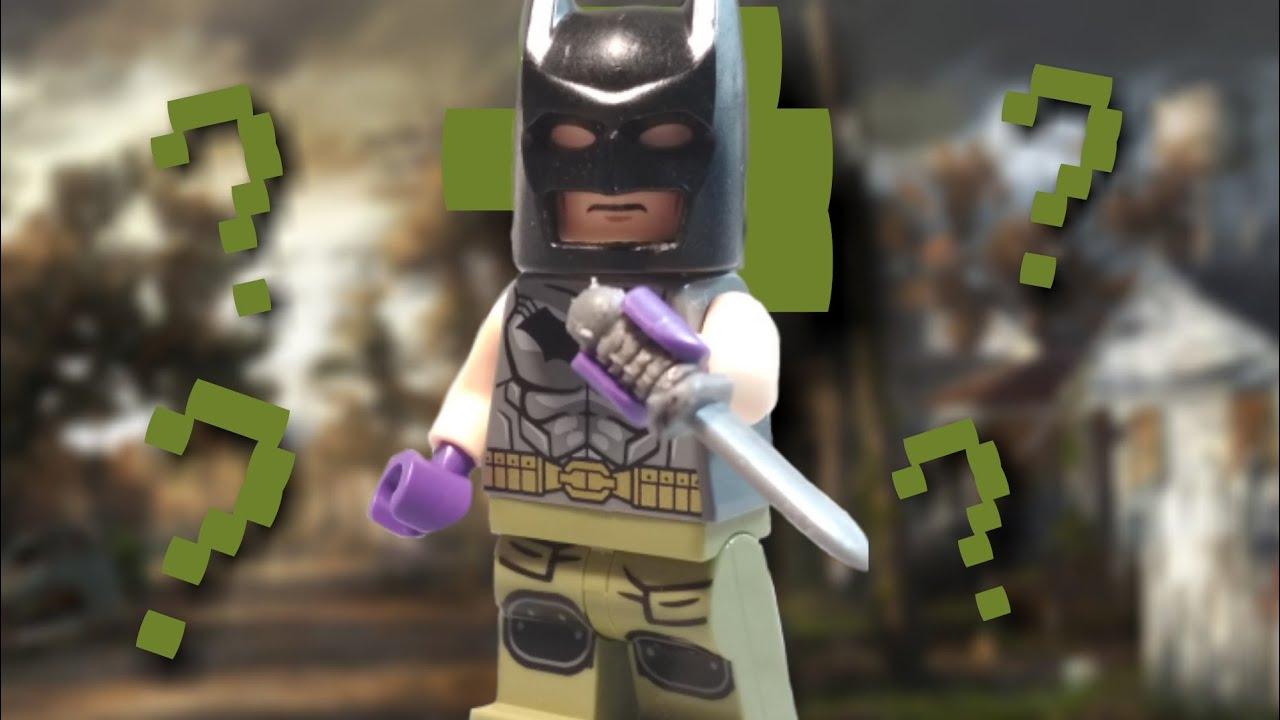 Lego Batman Zero year - Test - YouTube
