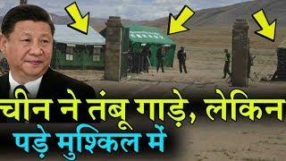 China और India ने 10 हजार फिट पर गाड़े तंबू, लेकिन चीनी सैनिकों के लिए हो रही मुश्किलें