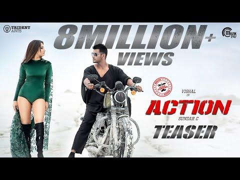 Action Teaser I Vishal, Tamannaah I Hiphop Tamizha I Sundar.C