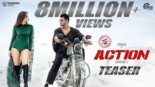Action Teaser I Vishal Tamannaah I Hiphop Tamizha I SundarC I Official
