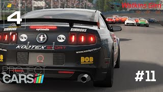 Project Cars Gameplay PC GT4 Ford Mustang Boss 302R1 at Watkins Glen