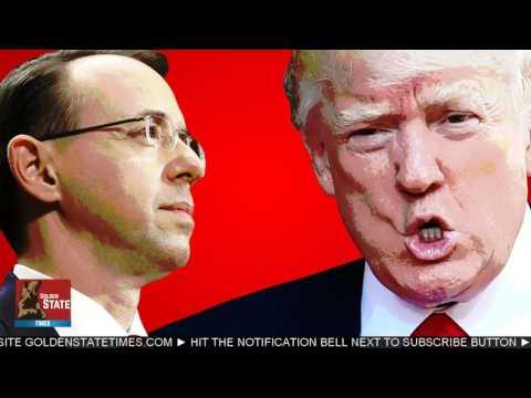BREAKING NEWS: Deputy AG Rod Rosenstein will recuse Himself from Russian Probe!!!