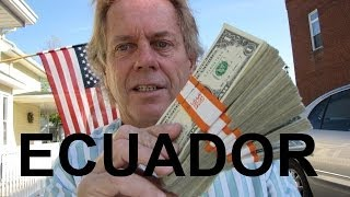 Ask Andy With 400 One Dollar Bills for Cuenca Ecuador