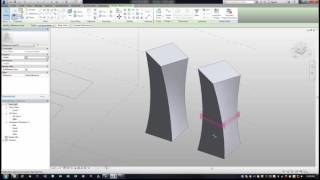 Revit Massing Environment, Building Simple & Complex Forms