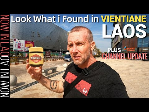 Living in Laos | What I Found in Vientiane Laos | Now in Lao